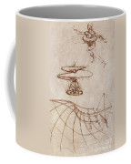 Drawings By Leonardo Divinci Coffee Mug
