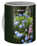Dreamy Blue And Pink Hydrangeas Coffee Mug