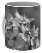 Dreamy Spring Blossoms In Black And White Coffee Mug