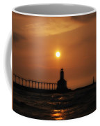 Dreamy Sunset At The Lighthouse Coffee Mug