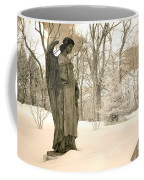 Dreamy Surreal Angel Sepia Nature Scene Coffee Mug