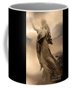 Dreamy Surreal Guardian Angels Ascent To Heaven Coffee Mug