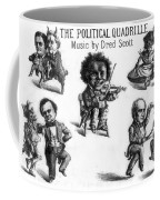 Dred Scott & The 1860 Presidential Race Coffee Mug by Photo Researchers