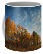 Dressed In Autumn Colors Coffee Mug by Priska Wettstein