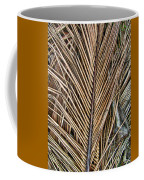 Dried Palm Fronds Coffee Mug