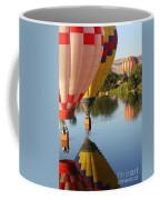 Drifting Along On The Yakima River Coffee Mug