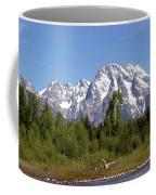 Driftwood And The Grand Tetons Coffee Mug