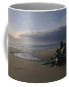 Driftwood And Tidal Pools, Victoria Coffee Mug