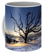 Driftwood Beach At Dawn Coffee Mug