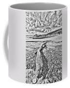 Driftwood Sketch Coffee Mug