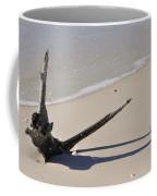 Driftwood Sun Dial Coffee Mug