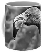 Dripping Flamingo - Bw Coffee Mug