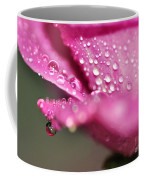 Droplet On Rose Petal Coffee Mug