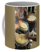 Drummers Of Varied Backgrounds Join Coffee Mug