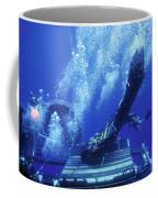 Dry Deck Shelter Rewmen Release Coffee Mug by Michael Wood