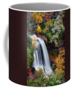 Dry Falls Or Upper Cullasaja Falls Coffee Mug