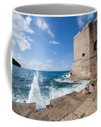 Dubrovnik Fortification And Pier Coffee Mug