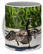 Duck And Run Coffee Mug