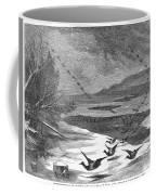 Duck Hunting, 1871 Coffee Mug
