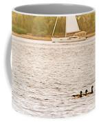 Duck Sailing Coffee Mug