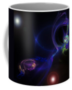 Dueling Galaxies Coffee Mug