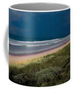 Dunes And Ocean Divided Coffee Mug