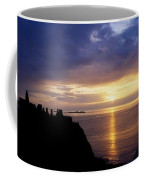 Dunluce Castle At Sunset, Co Antrim Coffee Mug