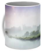 Dunmoe Castle Seen Through The Mist On Coffee Mug