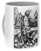 Durer: Prodigal Son, 1496 Coffee Mug