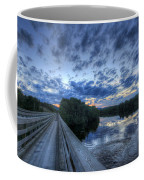 Dusk At The Abol Bridge Coffee Mug