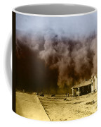 Dust Storm, 1930s Coffee Mug by Omikron