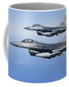 Dutch F-16ams During A Combat Air Coffee Mug