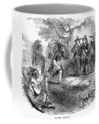 Dutch-native American Fur Trade Coffee Mug