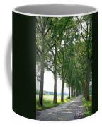 Dutch Road - Digital Painting Coffee Mug