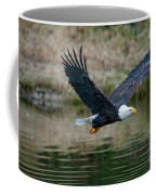 Eagle In Flight Coffee Mug