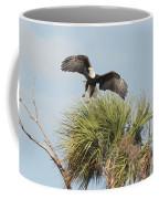 Eagle In The Palm Coffee Mug
