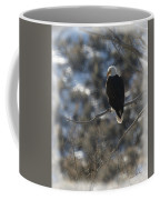 Eagle In Tree 2 Coffee Mug