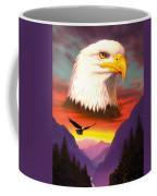 Eagle Coffee Mug by MGL Studio - Chris Hiett