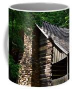 Early 19th Century Log Cabin Coffee Mug