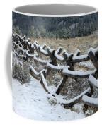 Early Fall Snow Coffee Mug
