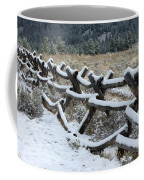 Early Fall Snow Coffee Mug