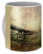 Early Morning Pier Coffee Mug by Skip Nall