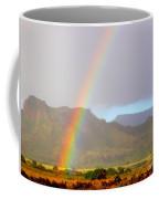 Early Morning Rainbow At Sleeping Giant Mountain Coffee Mug