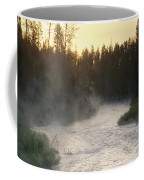 Early Morning View Of Crescent Creek Coffee Mug