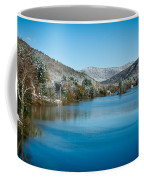 Early Snow In Vermont Coffee Mug by Edward Fielding