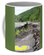 Earth Opening Road Closing Coffee Mug