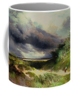 East Hamptonlong Island Sand Dunes Coffee Mug