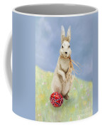 Easter Bunny With A Painted Egg Coffee Mug