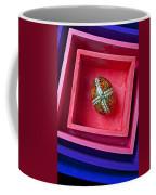 Easter Egg In Pink Box Coffee Mug