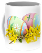 Easter Eggs Coffee Mug by Elena Elisseeva